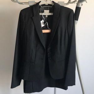 Halogen Wool Blend Skirt Suit